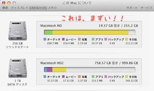 『年末です!!Mac miniのSSDを大掃除(・∀・)』