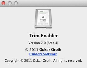 『Trim Enabler2.0 最新版をインストール』