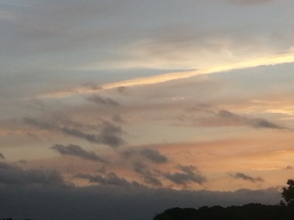 『雷雨〜夕焼け』