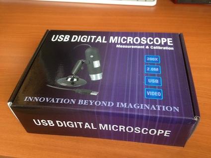『これ、オモロイw USBマイクロスコープ KR-012B 購入』