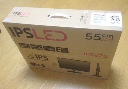 『サブディスプレイ。「LG IPS225」購入、設置』