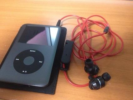 『iPodClassic120GB黒くん、動作確認完了!』