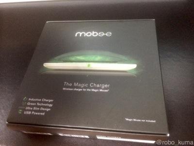 Apple Magic Mouseを『Mobee The Magic Charger』で使用中に接続が突然切れる場合の対象方法例です。