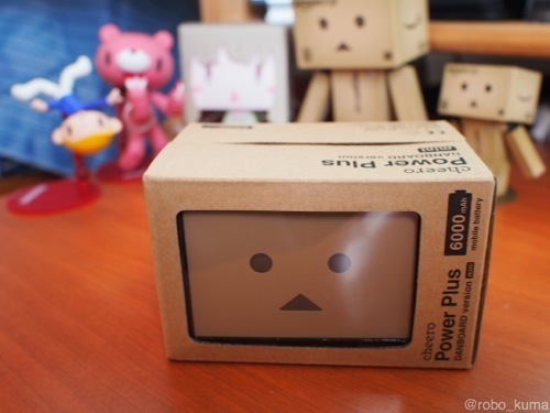 「cheero Power Plus DANBOARD version -mini- 6000mAh 」レビュー