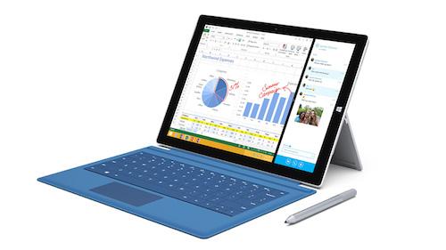 『Surface Pro 3』が発表されました。
