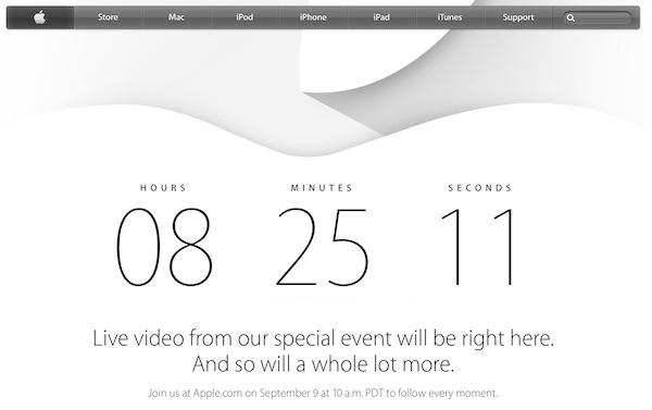 今晩です!新型iPhone、iWatch??の発表イベント(੭ु ˃̶͈̀ ω ˂̶͈́)੭ु⁾⁾