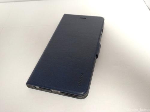 【「iPhone 6 Plus」ケースレビュー】ahha 日本正規品 iPhone6 Plus 5.5 inch KIM Flip Case, Ocean Blue 手帳型 フリップ ケース, オーシャン・ブルー