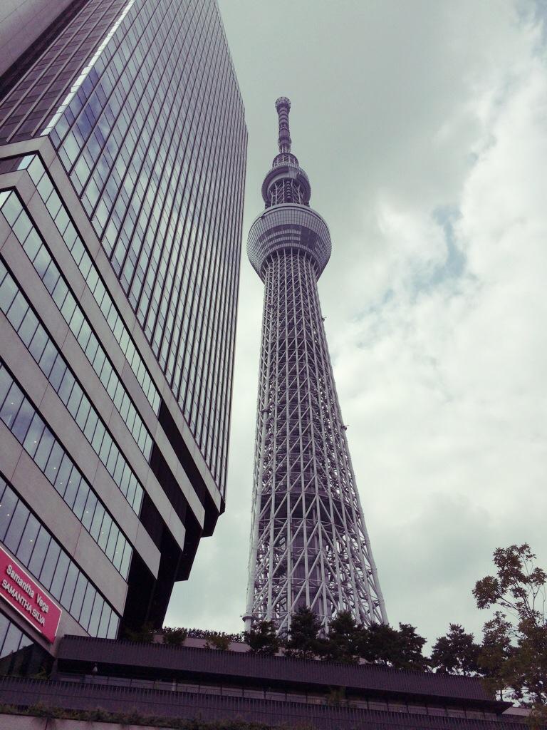 東京に来てます( ̄^ ̄)ゞ