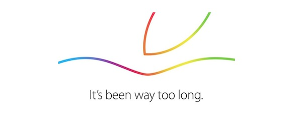 来るか? iPad Air 2 (੭ु ˃̶͈̀ ω ˂̶͈́)੭ु⁾⁾ 10月16日にAppleスペシャルイベント開催
