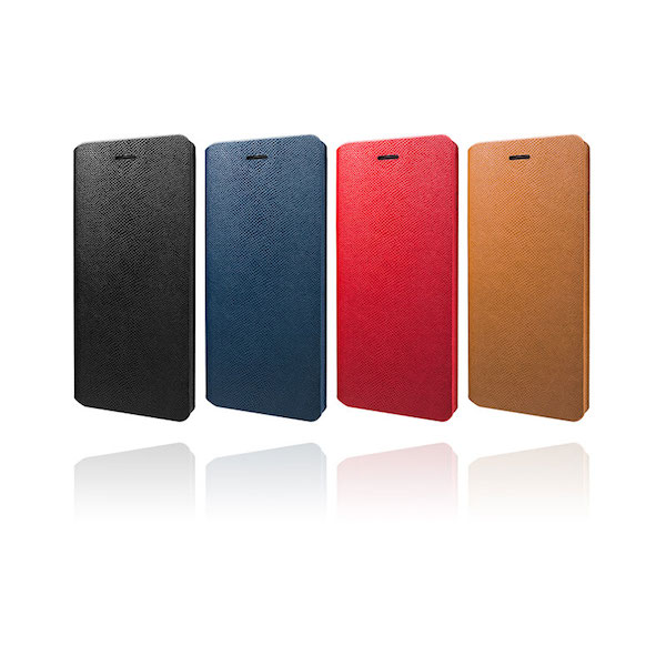 【iPhone 6 Plusケースレビュー】Helium Super Thin One Sheet PU Leather Case for iPhone 6 Plus 一枚革 PUレザー