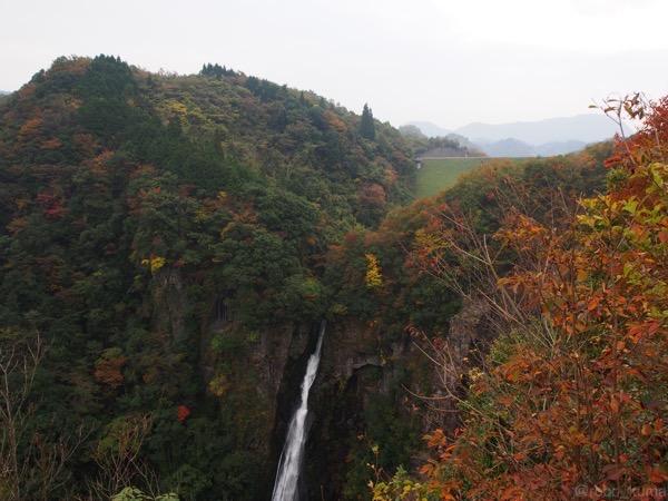 【紅葉を求めて〜】その2。『西椎谷の滝』