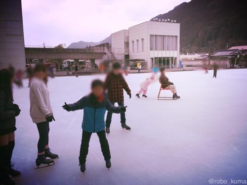 年に1度のアイススケート