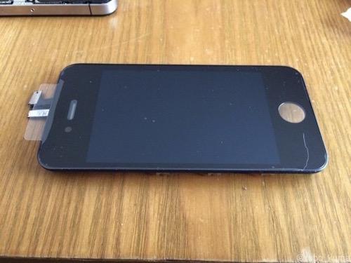 長男くんの「iPhone 4s」を修理したものの・・・(-_-;)疲れた