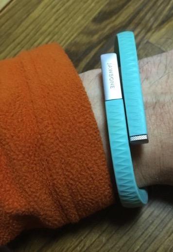 『UP by Jawbone』の睡眠モード切替忘れ時の睡眠時間の手動記録方法