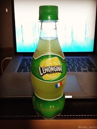 「レモンジーナ」飲んで見ました(*`・ω・)ゞ