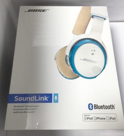 [ヘッドホン]値上げ前に『Bose SoundLink オンイヤー ワイヤレスヘッドホン Bluetooth対応』を購入しました。