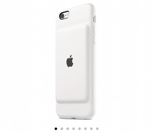 マジか!Appleさん純正のバッテリーケースが出た!「iPhone 6s Smart Battery Case」販売開始です。
