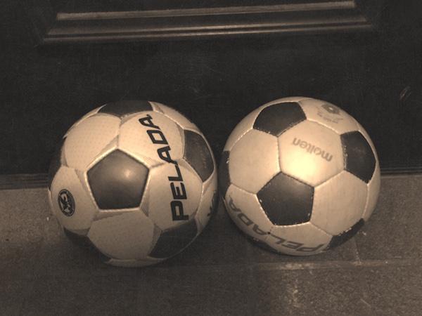小学校最後のサッカー
