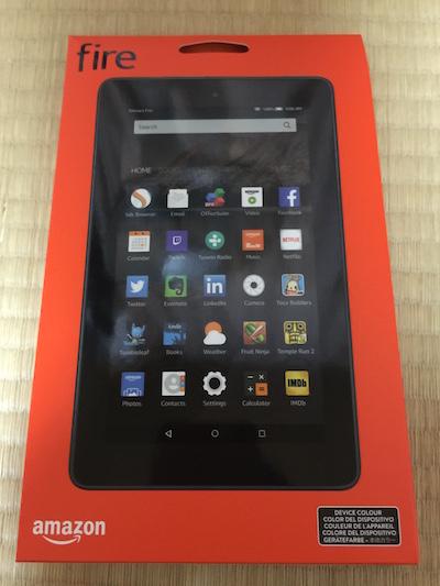 【Kindle】Kindle Fireタブレット 7インチ モデルを購入しました(*`・ω・)ゞ
