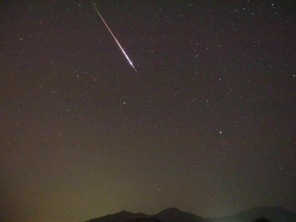 【天体観測】ペルセウス座流星群を観測です(*`・ω・)ゞ