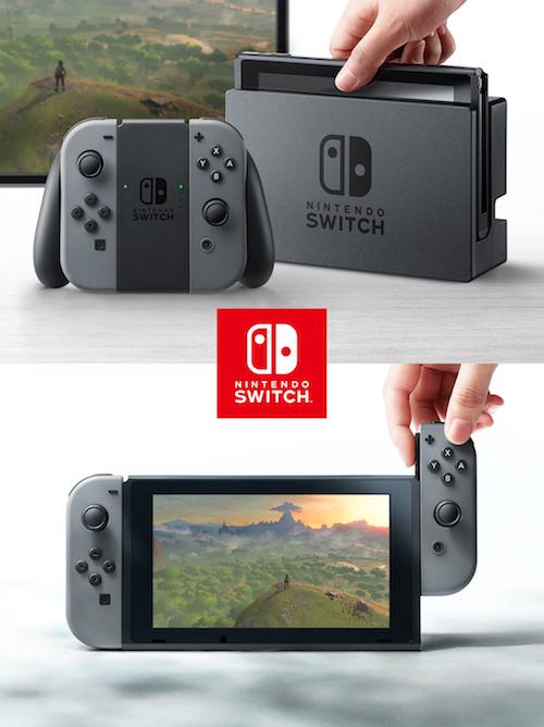 【ゲーム】 据置と携帯の融合! 任天堂の新型ゲーム機「Nintendo Switch」を発表です(^O^)。