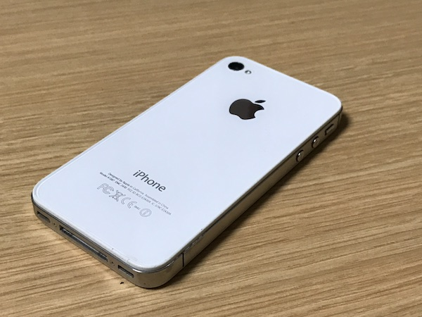 iPhone4sを引退です(*`・ω・)ゞ。