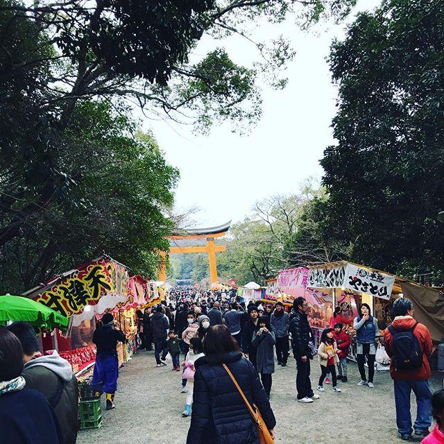 2017年初詣 #宇佐神宮