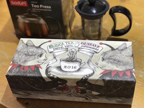 紅茶を買ったので、紅茶ポットを買ってみました(*`・ω・)ゞ