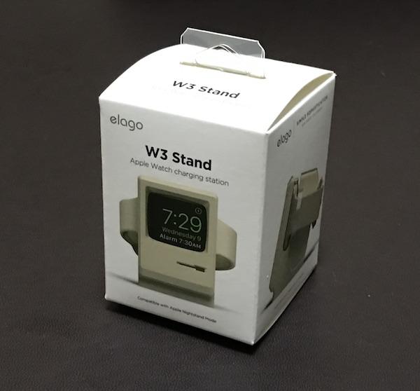 【Apple Watch】 初代Macintosh風な充電スタンド『elago W3 STAND』買って見ました。これ良いです(*`・ω・)ゞ