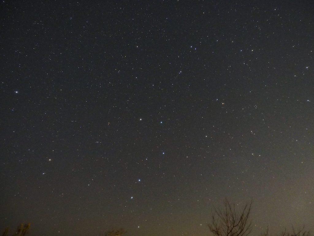 【写真】 一応写っていた(*`・ω・)ゞ小さくねw 『しぶんぎ座流星群』冬の撮影は結露するね。