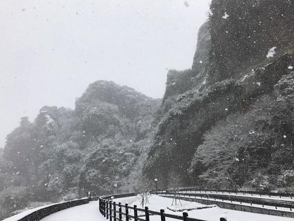 『第1回中津耶馬溪フォトコンテスト~冬の耶馬渓編~』に応募するため雪の耶馬溪へレッツゴー(*`・ω・)ゞ