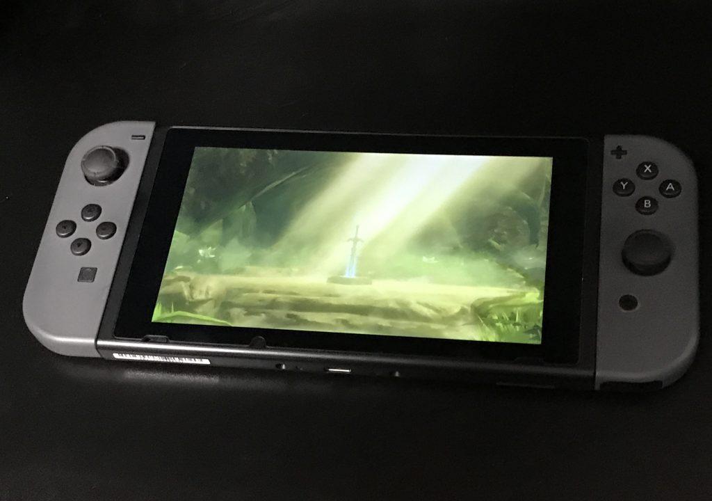 【Nintendo Switch】 「ゼルダの伝説 ブレス オブ ザ ワイルド」とても面白いです(*`・ω・)ゞ。