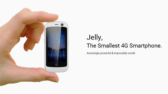 う〜ん、小さいスマホが欲しい!! 「Kickstarter」で支援募集中の『Jelly』に投資してみました。