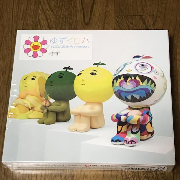 【アルバム】 YUZU 20th Anniversary ALL TIME BEST ALBUM 「ゆずイロハ 1997-2017」(「ゆずイロハ 1997-2017」B2告知ポスター付) 購入。20周年のベストアルバムです。