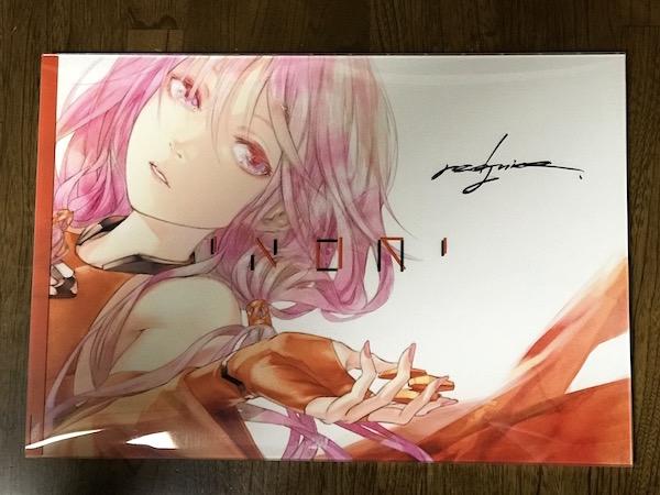 ギルティクラウン・楪いのりアートブック「INORI」 購入。