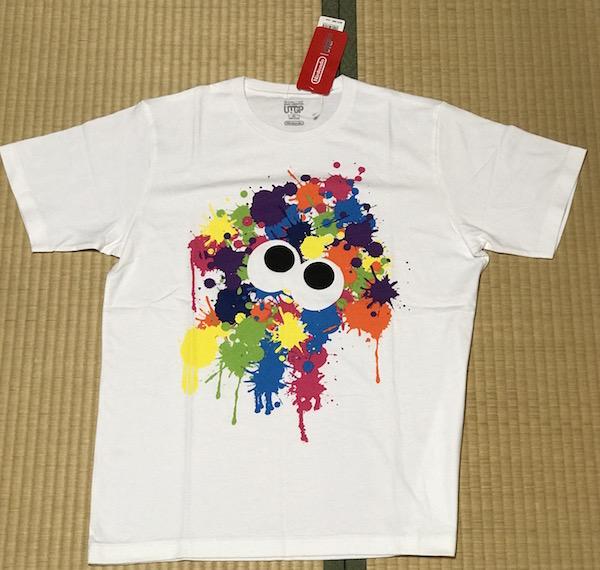 コレ着て『スプラトゥーン2』頑張るんだ(^O^)。 ユニクロコラボのTシャツ買ったよ!
