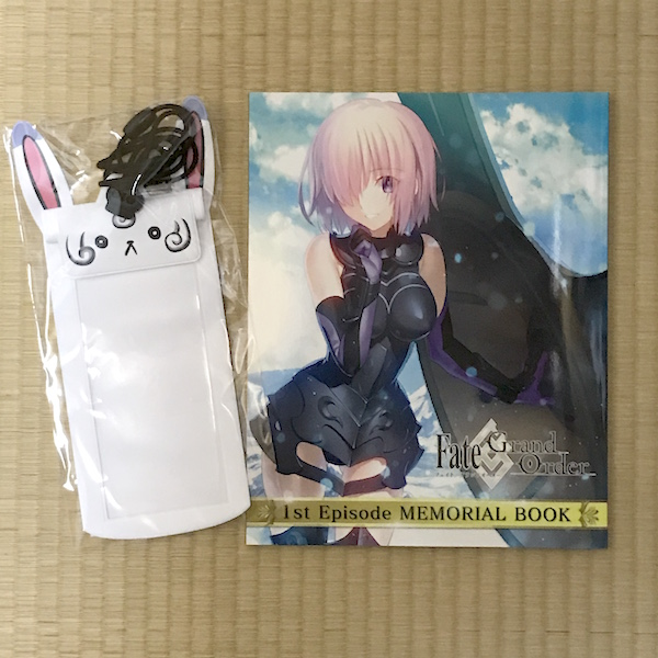 「Fate/Grand Order」 1st Episode MEMORIAL BOOK 購入(*`・ω・)ゞ。