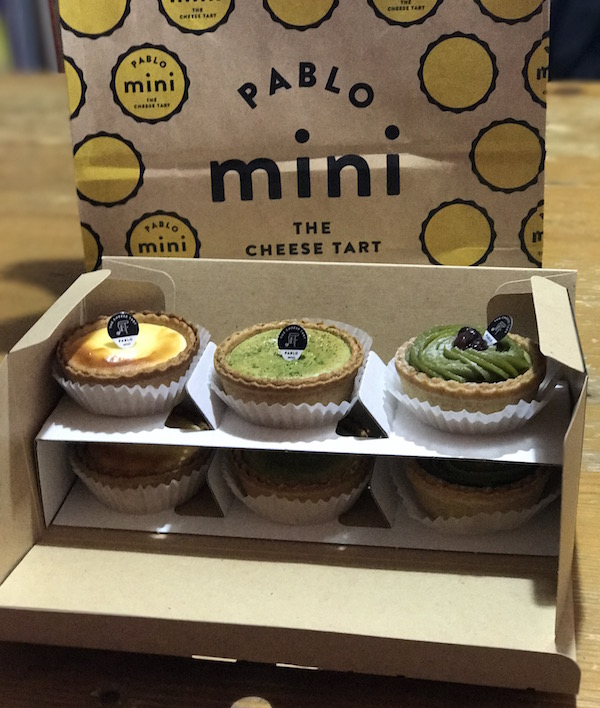 『PABLO mini』チーズタルト専門店に行って来ました(^O^)。美味しい。