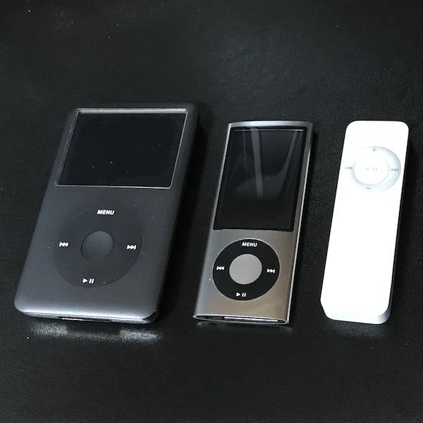 iPodシリーズの終焉。iPod touch 以外は販売終了です。