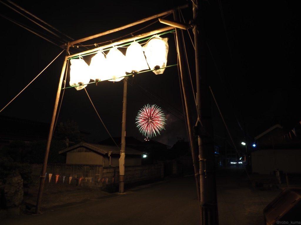 夏はやはり祭りと花火です(*`・ω・)ゞ。
