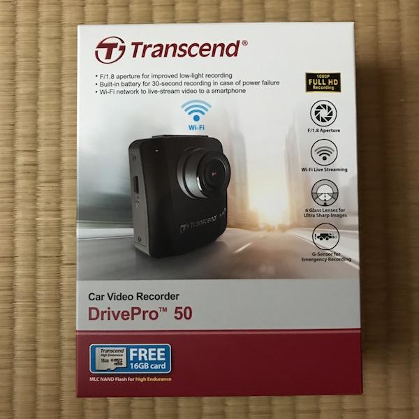 ドライブレターを買って見た╭( ・ㅂ・)و ̑̑ グッ ! 『Transcend DrivePro 50』。