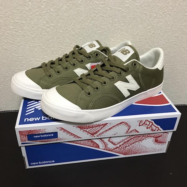 新しい靴で歩こう╭( ・ㅂ・)و ̑̑ グッ ! 『[ニューバランス] スニーカー Pro court』購入。