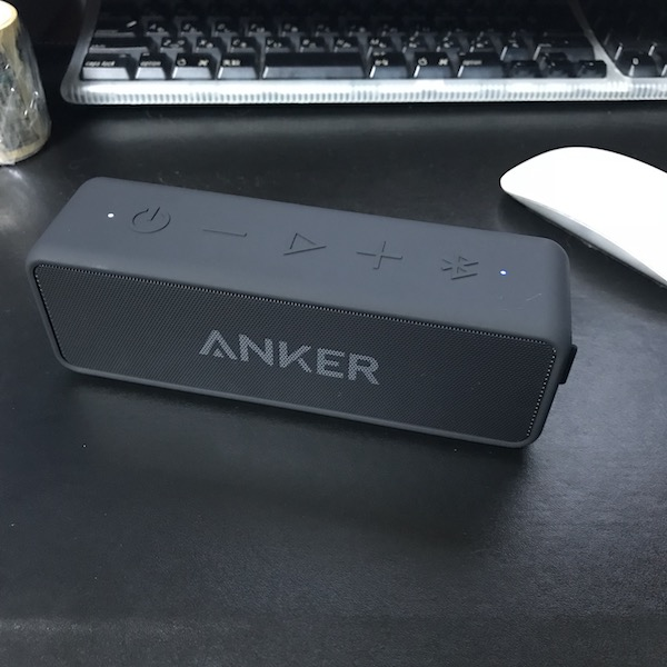 Bluetooth4.2 で24時間連続再生可能なスピーカー『Anker SoundCore 2』を購入(*`・ω・)ゞ。音いいぞ!!