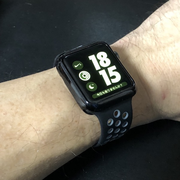 Apple Watch Season2 Nike+ の保護ケースを新調です(*`・ω・)ゞ。