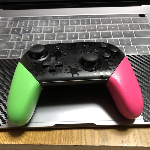 壊れた Nintendo Switch の『Proコントローラー スプラトゥーン2エディション』が修理から帰って来ました(*`・ω・)ゞ。