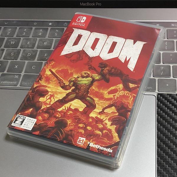 Nintendo Switch版 『DOOM』 購入。大人のゲーム、元祖3Dグルグルです。酔う(*`・ω・)ゞ