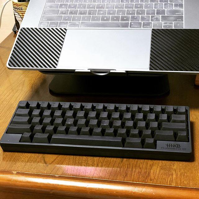 黒いキーボードを買ってみた。#HHKB
