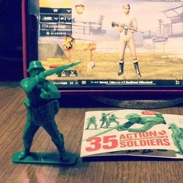 『35ACTION SOLDIERS』 1/35スケールです。