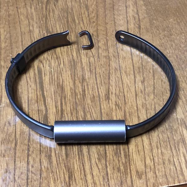活動量計『MISFIT RAY』のベルトが切れちゃった。