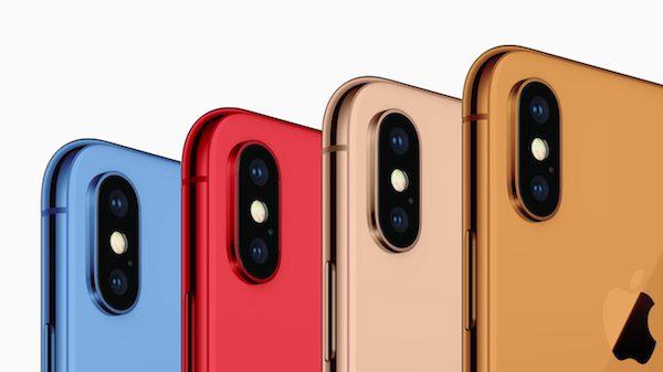 2018年発売予定の6.1inchのiPhoneは5色になる? 噂。